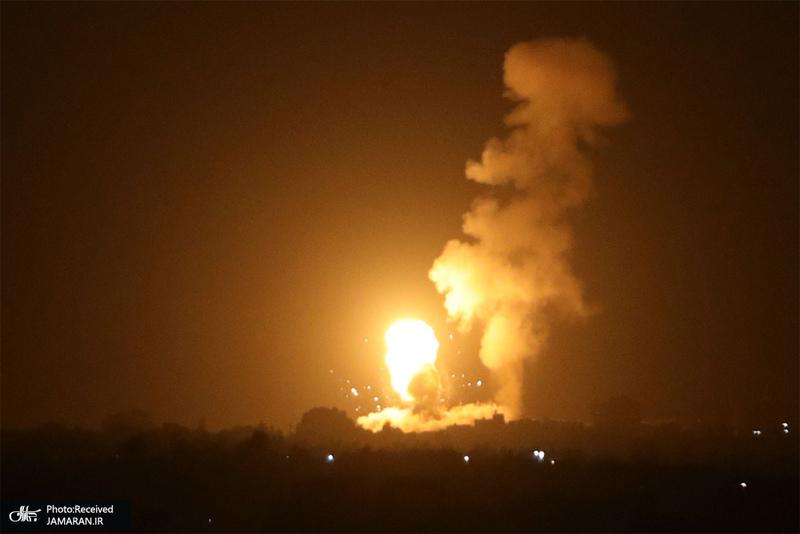 منتخب تصاویر امروز جهان- 16 شهریور 1400 نوار غزه