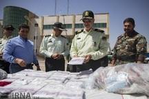 یک و نیم تن مواد مخدر در فارس کشف شد