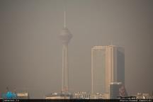 تداوم آلودگی هوای تهران(1396/9/28)