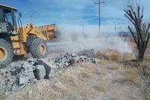 ۹۶۰۰ مترمربع از زمینهای ملی در سراوان رفع تصرف شد