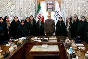 لاریجانی: مبارزه با خشونت علیه زنان را در قالب طرح پیگیری کنید