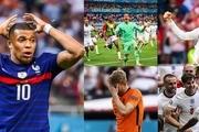 بهترینهای یک هشتم نهایی یورو 2020  شاهکار سوئیس/ امباپه ناکام بزرگ