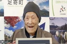عکس/ مسن ترین مرد جهان درگذشت
