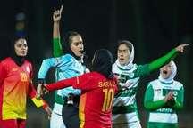 دیدار فوتبال بانوان ذوب آهن و شهرداری سیرجان با درگیری همراه بود