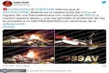 ارتش ونزوئلا هواپیمای متجاوز آمریکایی را سرنگون کرد+ عکس