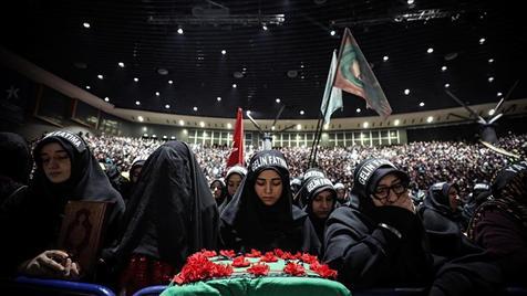 عزاداری امام حسین (ع) در استانبول /  ویدیو