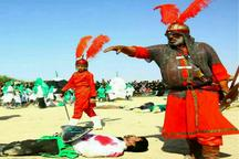 هنرمند ورامینی حین اجرای تعزیه دارفانی را وداع گفت