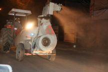 عملیات ضد عفونی و گندزدایی شهر خمین انجام شد