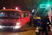 آتشسوزی چهار مغازه در آستارا مهار شد