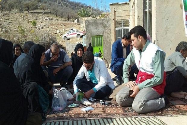 12 کاروان سلامت به مناطق محروم استان اردبیل اعزام شد
