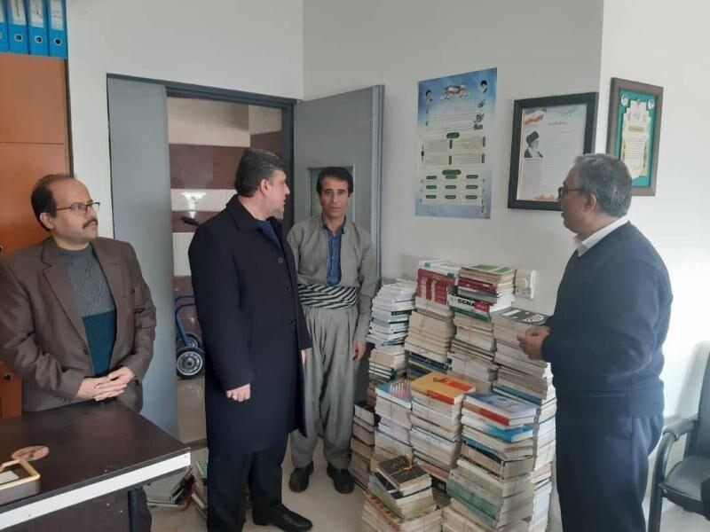 مخابرات ۵۳۰ یار مهربان را روانه کتابخانههای عمومی کردستان کرد
