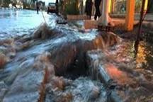 28 فقره آبگرفتگی در شهر مشهد رخ داد
