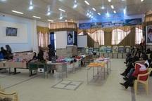 نمایشگاه آموزشیاران مراکز یادگیری محلی در بوکان گشایش یافت