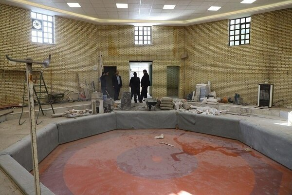 پیشرفت ۷۰ درصدی پروژه بهسازی زورخانه «علی بن ابیطالب» اردبیل