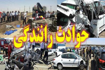 دومین تصادف در جاده هندیجان - ماهشهر در روز چهارشنبه با سه مصدوم