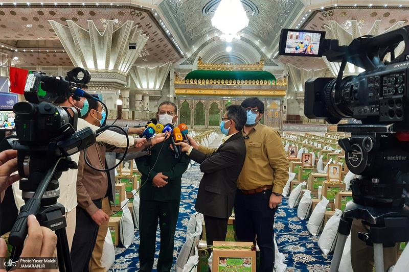 ششمین مرحله از رزمایش کمکهای مؤمنانه در حرم مطهر امام خمینی(س)