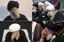 مراسم عزاداری اربعین حسینی در بیوت مراجع
