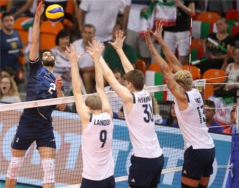 صعود تیم ملی والیبال ایران به عنوان تیم دوم/ شکست بی تاثیر شاگردان کولاکوویچ برابر آمریکا +عکس