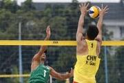 صعود تیم ملی والیبال ساحلی به نیمه نهایی تور جهانی