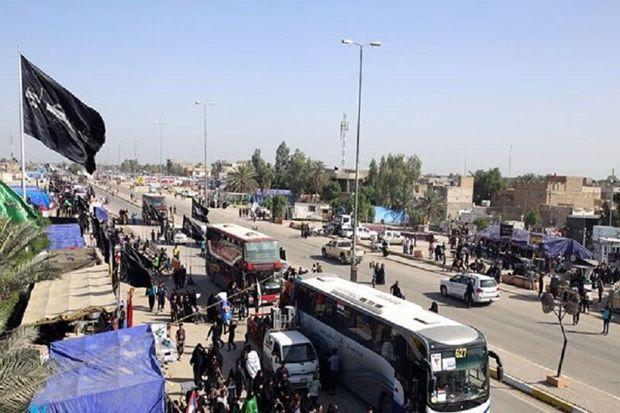 تردد ۲میلیون و ۲۰۰ هزار زائر اربعین حسینی از مرزهای خوزستان
