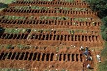 تصاویری از آماده سازی هزاران قبر در شیلی با افزایش شمار فوتیهای کرونا