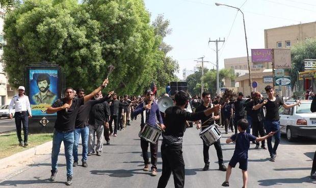 اجتماع بزرگ عزاداران تاسوعای حسینی در بوشهر برپا شد