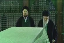 حضور رهبر معظم انقلاب در مرقد مطهر امام عظیمالشأن ملت ایران