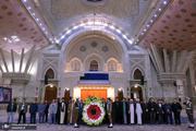 تجدید میثاق اعضای شورای هماهنگی تبلیغات اسلامی با آرمانهای حضرت امام(س)