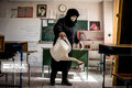 مدارس خراسان جنوبی برای مقابله با کرونا ضدعفونی شد