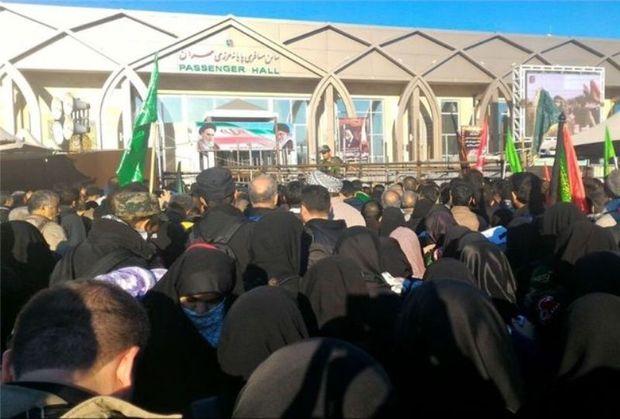 ۳۶ روز مانده به اربعین حسینی  خیل عظیم مشتاقان کربلا در مرز مهران