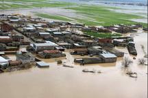 بالاآمدن دوباره آب در بخشهایی از شهر آققلا   5 شهرک در محاصره آب