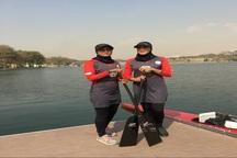 2 بانوی هرمزگانی عازم رقابت های جهانی دراگون بوت شدند