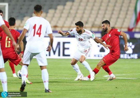 میلاد سرلک ایران سوریه مقدماتی جام جهانی 2022