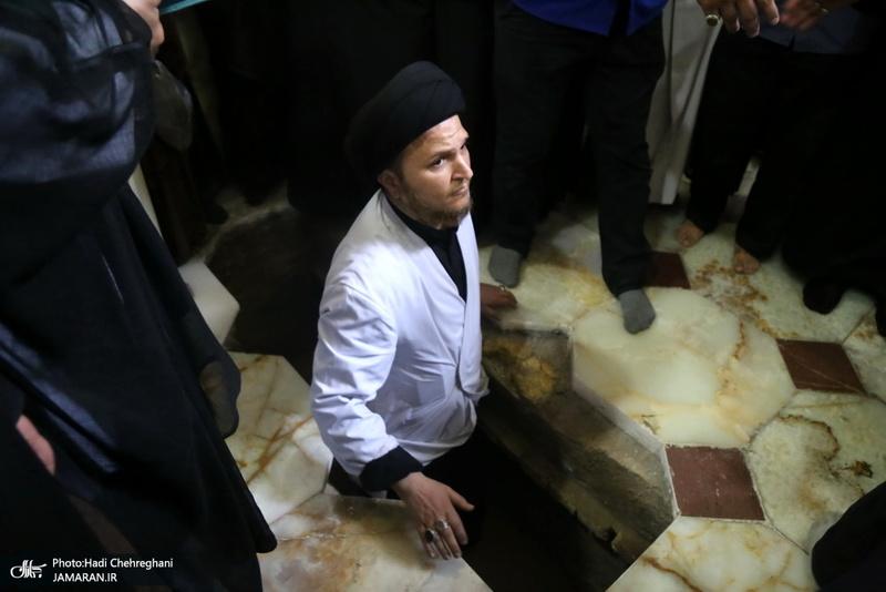 تشییع پیکر آیت الله العظمی حسینی شاهرودی(ره) در قم