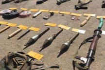 محموله سلاح جنگی در کویر شرق کشور متلاشی شد
