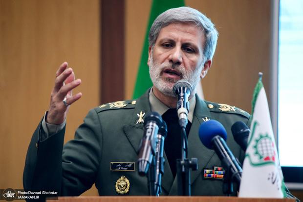 وزیر دفاع: به هیچ وجه اصابت گلوله به خاک ایران قابل قبول نیست