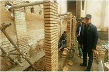 آسیب احتمالی بناهای تاریخی آذربایجان شرقی پایش می شود