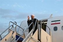 رئیس جمهور وارد فرودگاه بجنورد شد