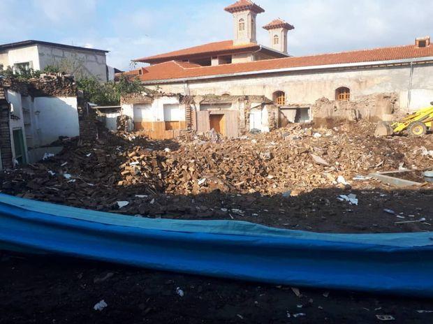 مدرسه میراثی امامیه ساری تخریب شد