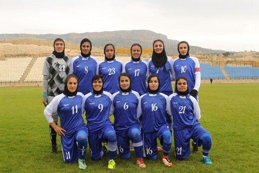اولین برد فصل همیاری آذربایجانغربی در لیگ برتر فوتبال بانوان