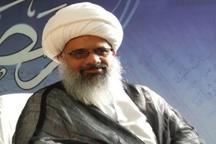 سخنرانی اخلاقی آیت الله قرهی در مسجد کوی دانشگاه تهران