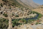 طولانی ترین پل چوبی کردستان در سروآباد مرمت شد