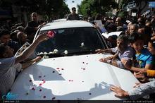 استقبال پر شور مردم زادگاه امام از سید حسن خمینی