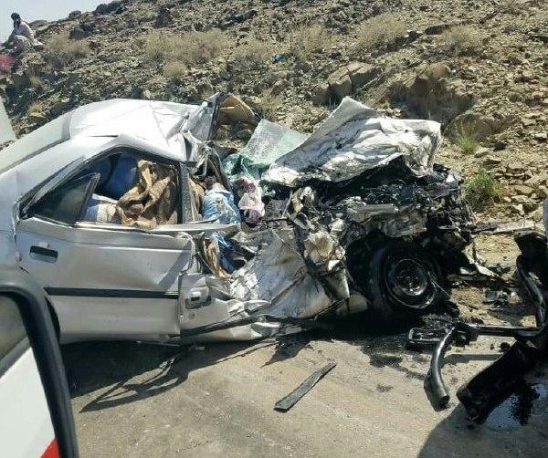 یک کشته و 7 مصدوم در حادثه رانندگی محور نهبندان - بیرجند