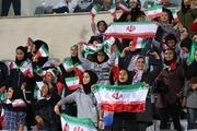 4600 زن دیدار ایران و کامبوج را تماشا میکنند