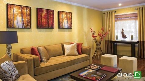 چگونه رنگهای پاییزی را به دکوراسیون منزل بیاوریم؟
