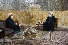 دیدار سرپرست موسسه تنظیم و نشر آثار امام خمینی(س) با تولیت آستان قدس رضوی