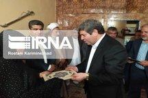 سرپرست وزارت آموزش و پرورش با خانواده شهیده دانش آموز چابهار دیدار کرد