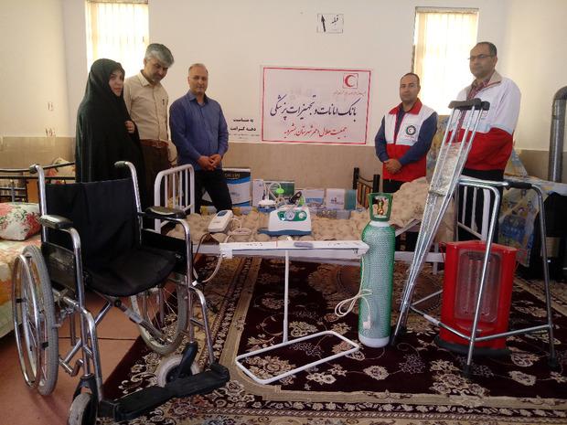 راه اندازی بانک امانات تجهیزات پزشکی در بشرویه