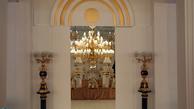 تصاویر جی پلاس از نمایشگاه لوستر و چراغ های تزئینی